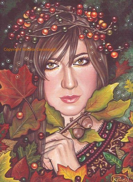 images of autumn dreamer | Autumn Dream by Renata Cavanaugh | ArtWanted.com