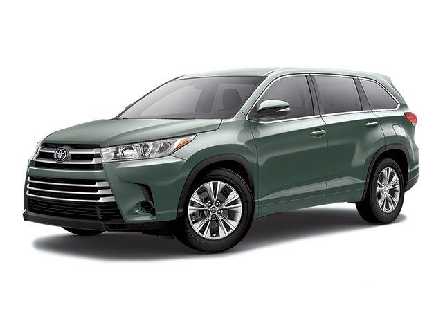 2017 Toyota Highlander - SUV - Alumina Jade Metallic