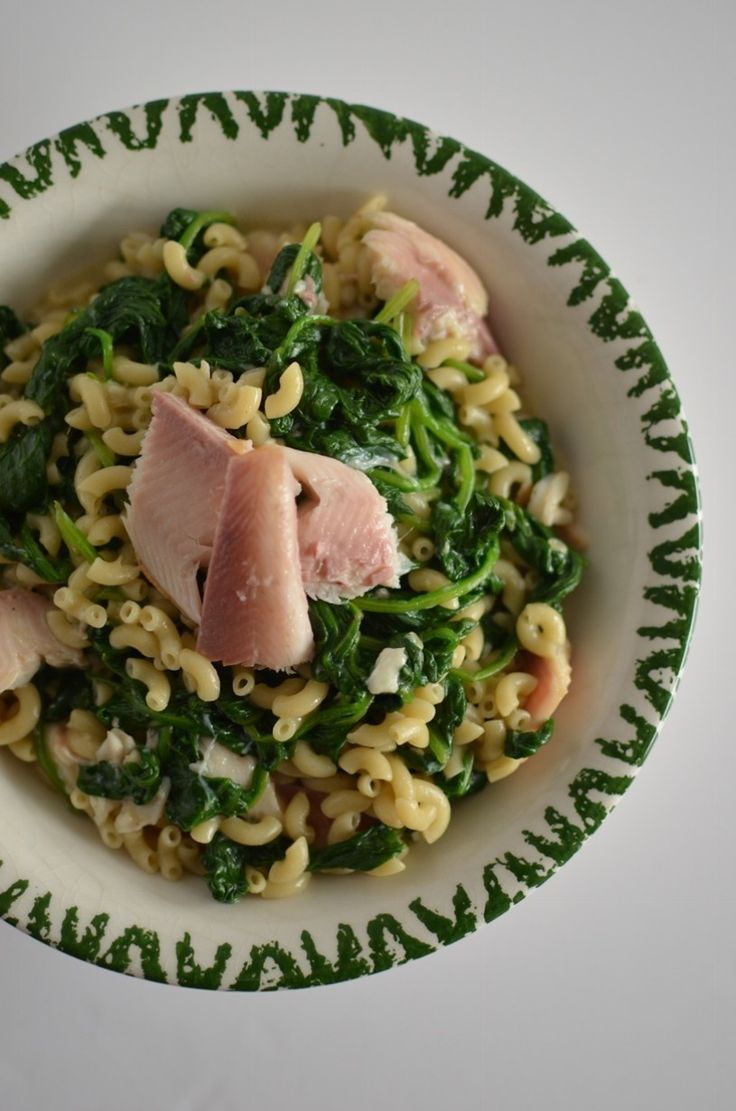 Macaroni Carbonara with Spinach and Smoked Trout | Recipes | The Windmill Bakery