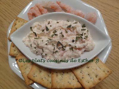 Les plats cuisinés de Esther B: Mousse aux crevettes (Joyeux Noël!!!)
