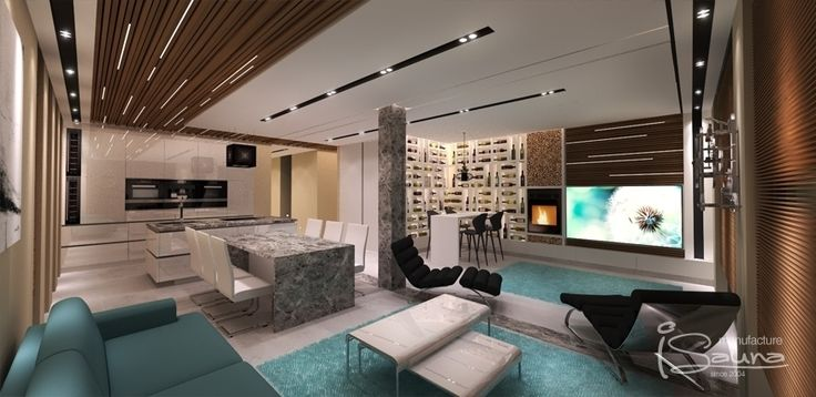 Interior design & visualization - Belsőépítészeti tervezés & látványtervezés