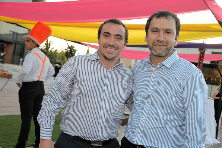 Germán Munita y Francisco Riveros