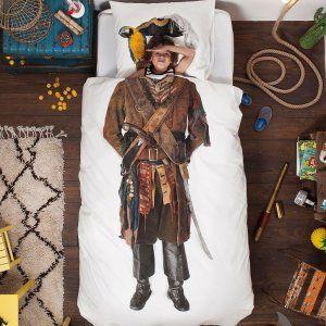 Dekbedovertrek Piraat - Dekbedovertrek Piraat
