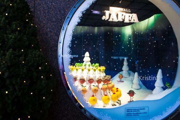 Ann-Kristina Al-Zalimi, hartwall jaffa jouluikkuna, jouluikkuna, stockmann, stockmannin tavaratalo, helsinki, finland, christmas, joulusomiste, jouluvalaistus, jaffa, hartwall jaffa, christmas decoration