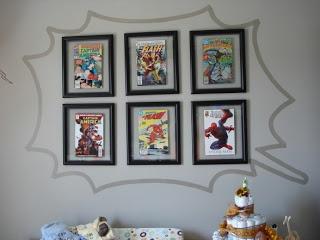 Comic book nursery | Living is easy...