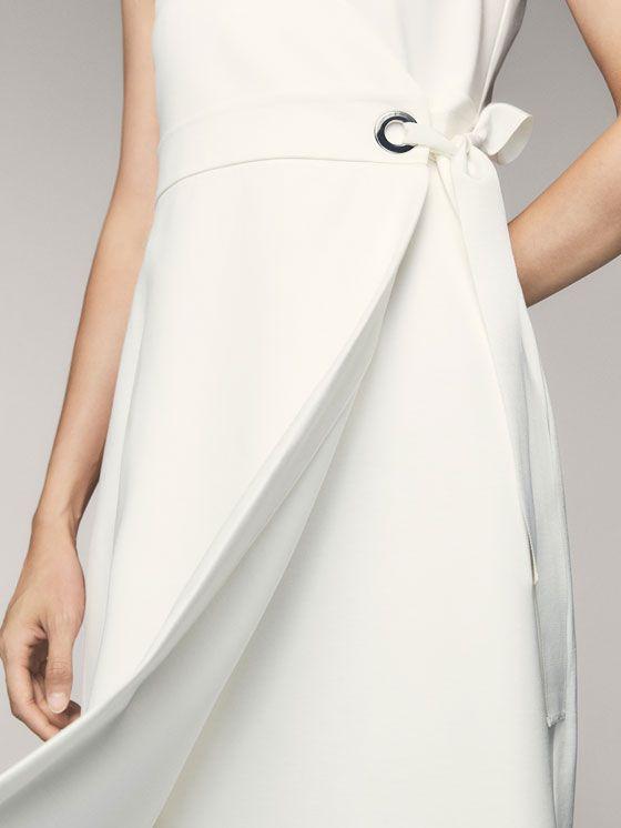 Robes et jupes pour femme | Massimo Dutti Soldes Hiver