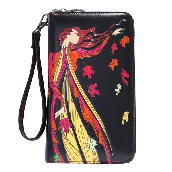 Leaf Dancer Travel Wallet