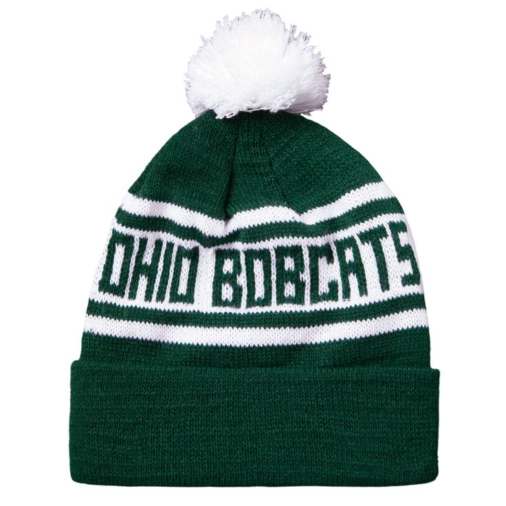 +HOMAGE+Ohio+University+Winter+Cap+Hat+Beanie