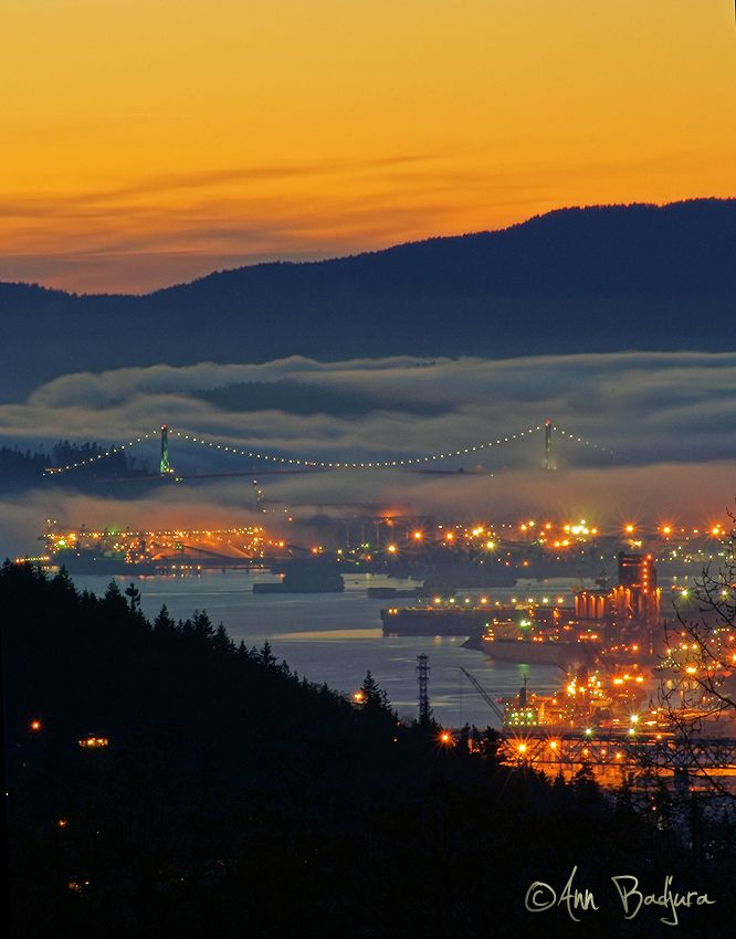 View from Burnaby Mountain | Vancouver, British Columbia, Canada