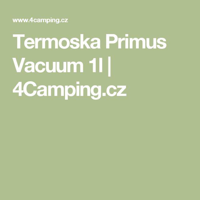 Termoska Primus Vacuum 1l | 4Camping.cz