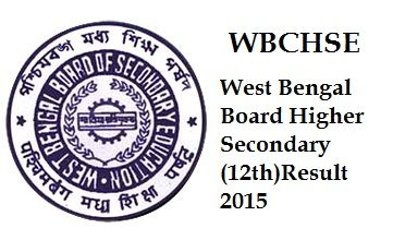 West Bengal Board Higher Secondary Result 2015