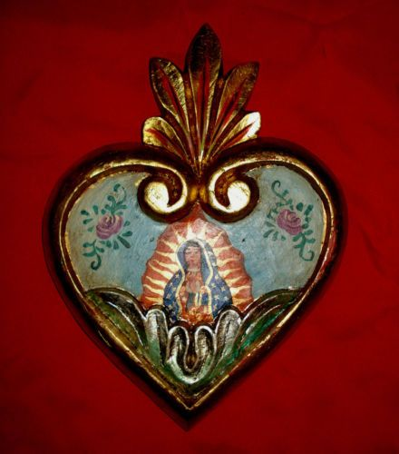 17 Best Images About Milagro Ex Voto Hearts On Pinterest