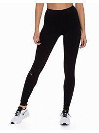 Ua Hg Armour Legging - Under Armour - Svart - Tights - Sportsklær - Kvinne - Nelly.com