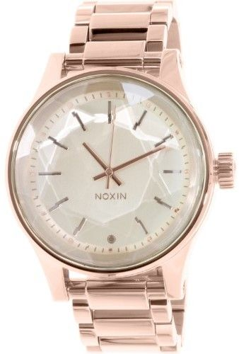 Nixon Women's Facet A384897 Rose-Gold Stainless-Steel Quartz Watch