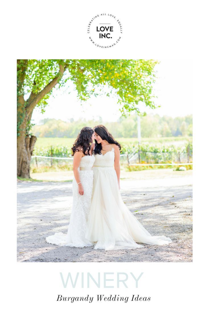 Kristina and devinus gold and burgundy winery wedding lgbt wedding