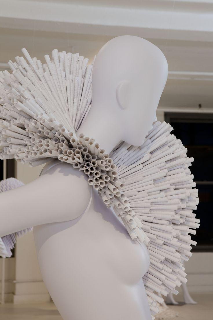 "Exhibition Display Design Ideas : Exhibition ""pratt paper ralph pucci quot dress"