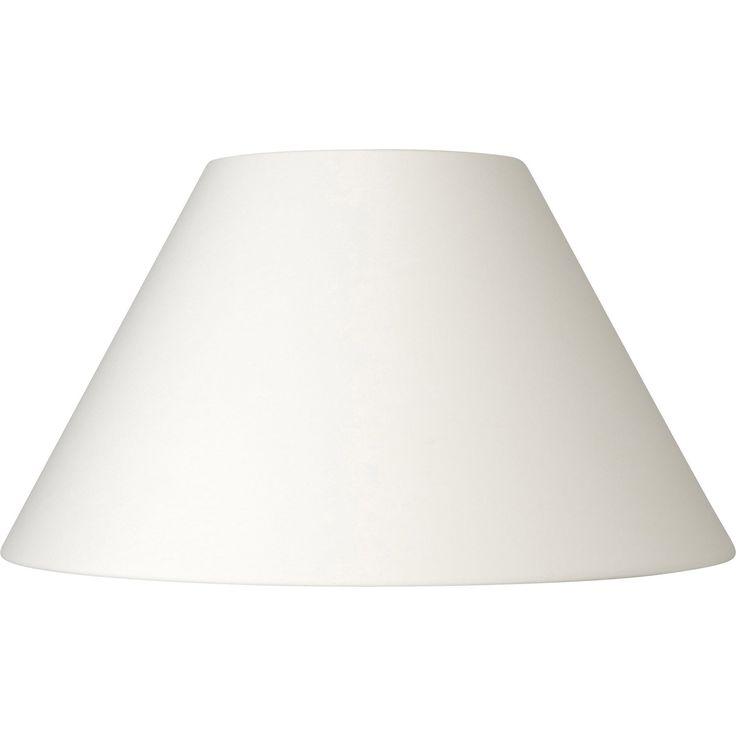Abat-jour Sweet, 60 cm, coton, blanc ivoire n°3 INSPIRE | Leroy Merlin