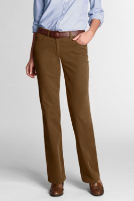 Women's Original Boot-cut Corduroy Pants from Lands' End