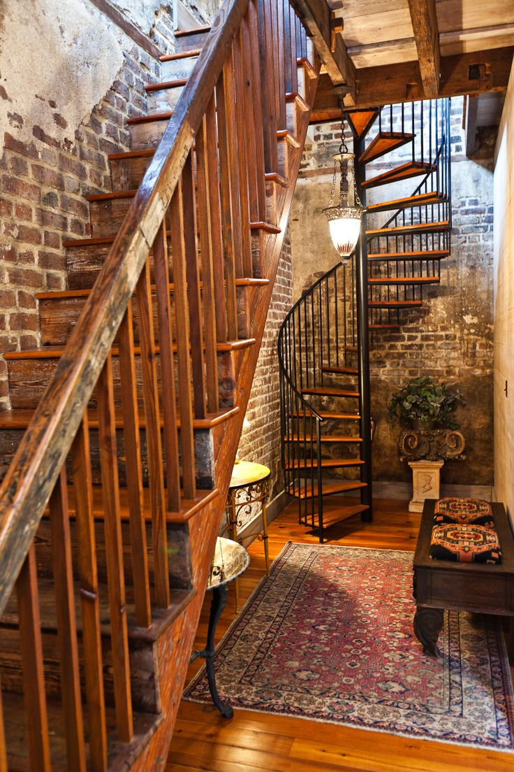 Carriage House Stairwell