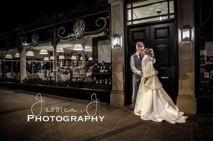 Betty's by night #harrogate #harrogatewedding #Betty's #Yorkshire #wedding #weddingphotography #bride #yorkshirewedding