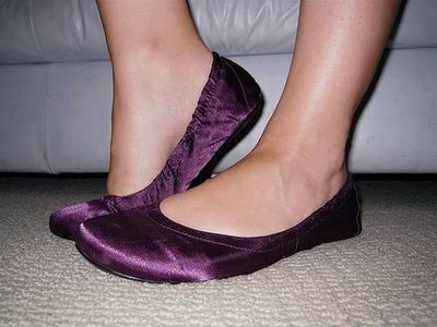 How to Sew Ballet Slippers
