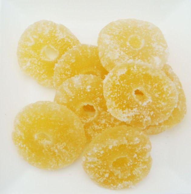 Abacaxi Cristalizado