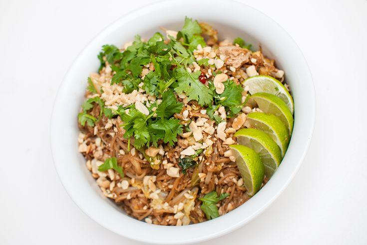 vegansk pad thai oppskrift