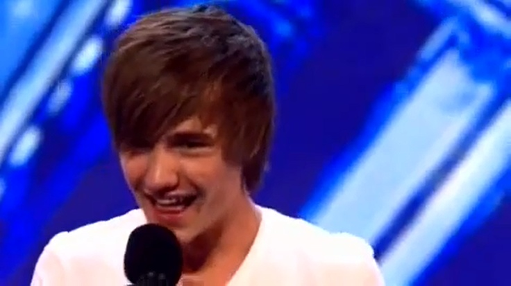 Liam at his Audition for the X Factor--