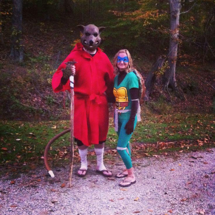 tmnt master splinter and leonardo - Splinter Cell Halloween Costume