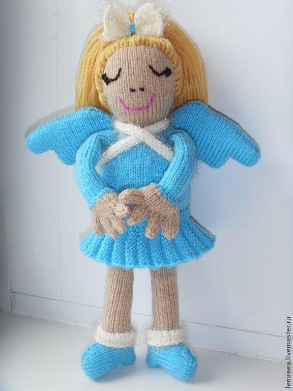 Купить Ангел-хранитель снов. Кукла вязаная. - ангел, ангел-хранитель, ангел снов, фея
