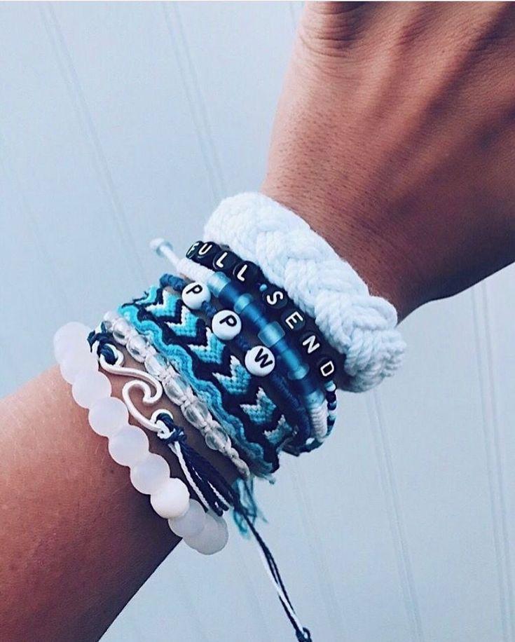 Beautiful VSCO Stack Bracelet. Order Today #VSCO #VSCOgirl #VSCOcheck #VSCObracelet