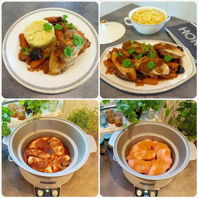Edels Mat & Vin: Marokkansk kylling i Crock-Pot ♫♪