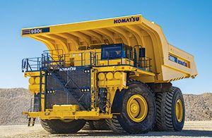 Komatsu Introduces the 980E-4 Mining Haul Truck - Rock & Dirt Blog Construction Equipment News & Information