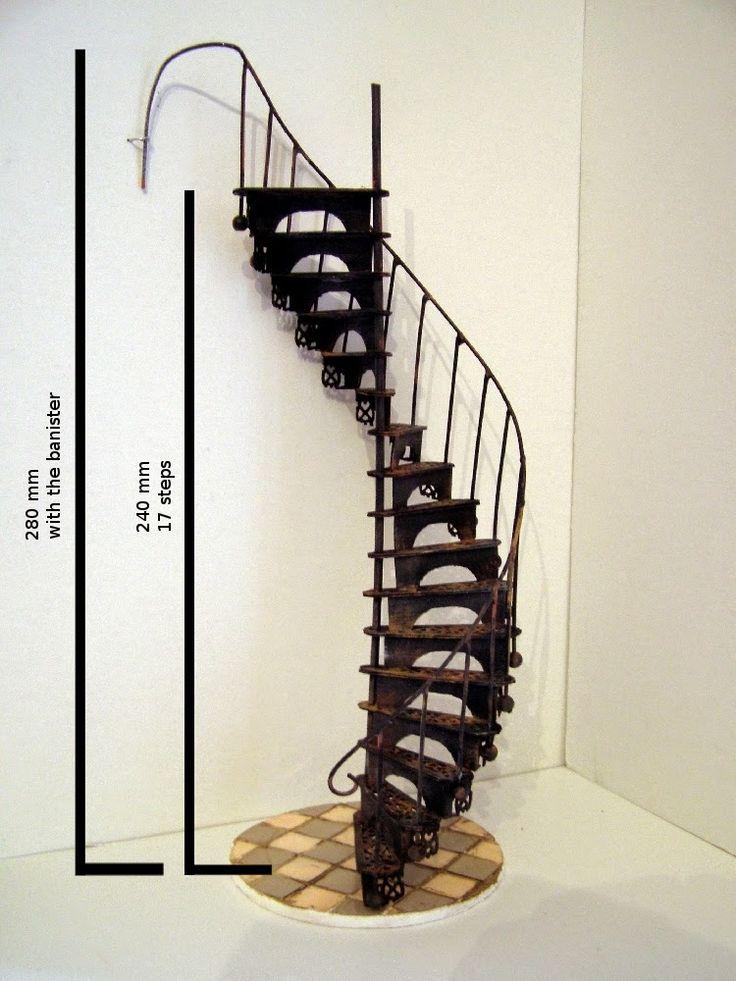 Pequeñeces: DIY Victorian spiral staircase