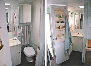 El antes y el después de una caravana... Soluciones sencillas y perfectas para disfrutar de unas vacaciones sobre ruedas.