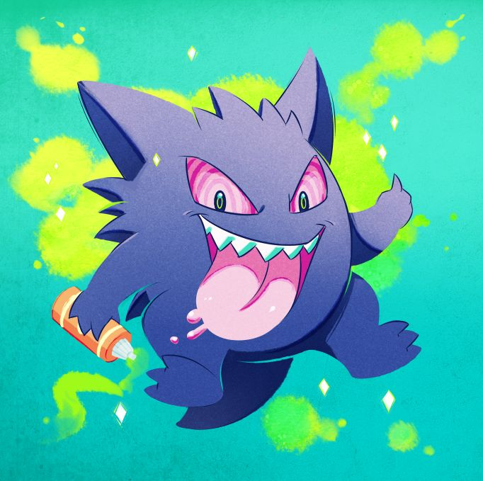 56 best Gengar images on Pinterest | Gengar pokemon, Ghost pokemon ...
