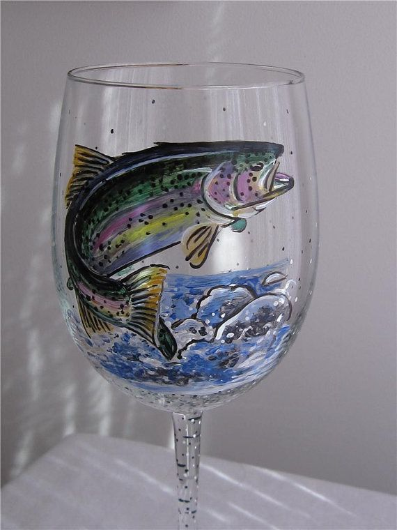 17 best images about todd on pinterest montana fishing for Painted glass fish
