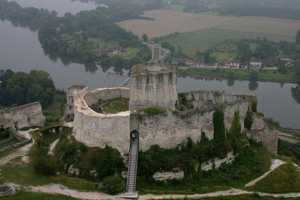 Photo du château Gaillard dans le département Eure (27)