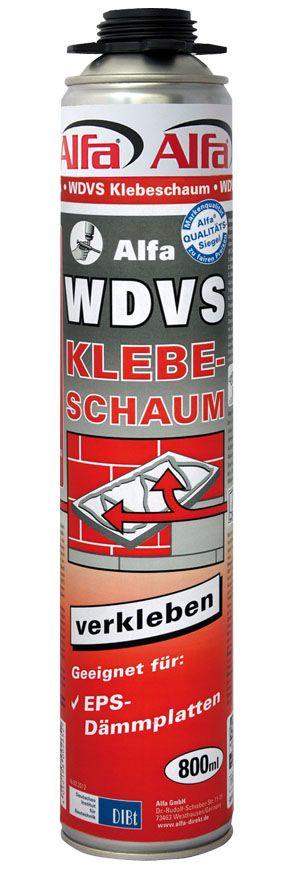 PU-Kleber, WDVS-Klebeschaum für Dämmplatten