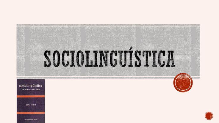 Apresentação dos Livros Sociolinguística os níveis da fala e L - 2