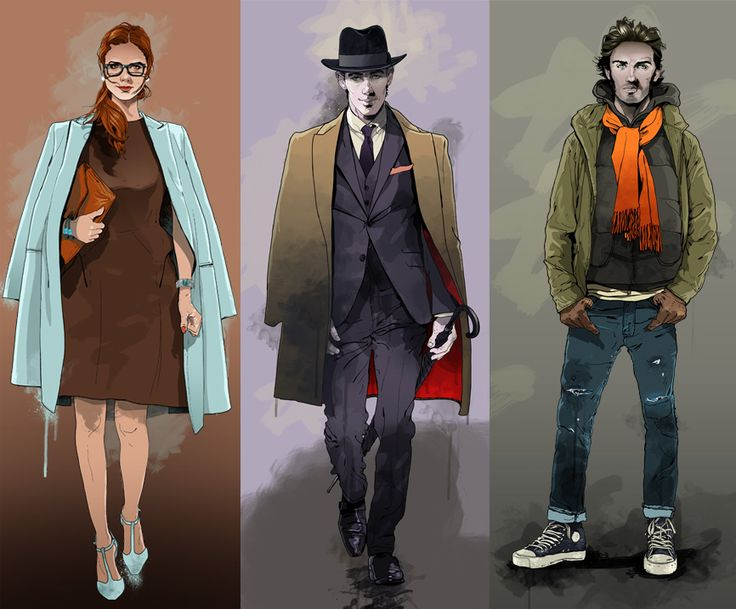 #gavinreece #newdivision #illustration #stylised #contemporary #textured #character