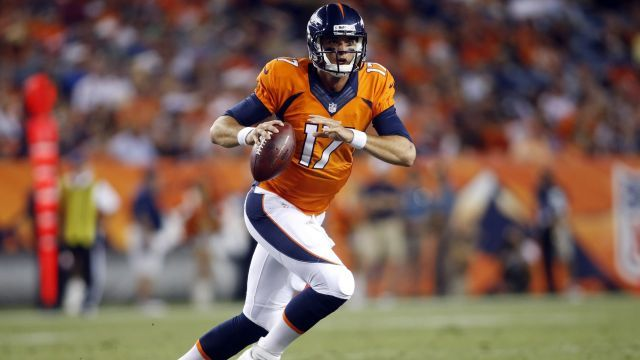 NFL Draft Rumors: Could Brock Osweiler Be Traded If Denver Broncos ...