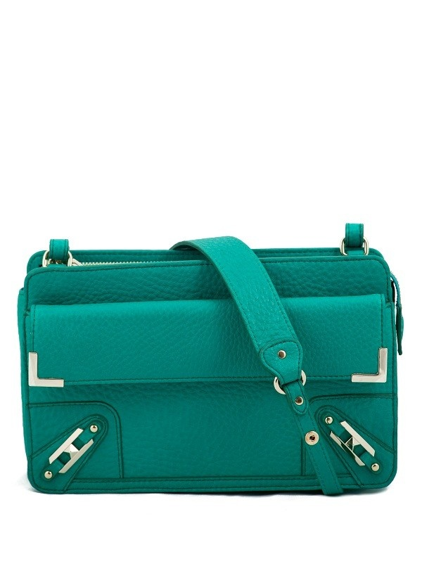 Rebecca Minkoff Metal Corner Clutch-Bright Green Bubble LeatherBook Worth, 395 Unfff, Bags Diy, Bubbles, Minkoff, Clutches Bright Green, Accessories, Corner Clutches Bright, Leather