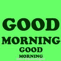 good morning green | dp bbm galau | Gambar Bergerak GIF