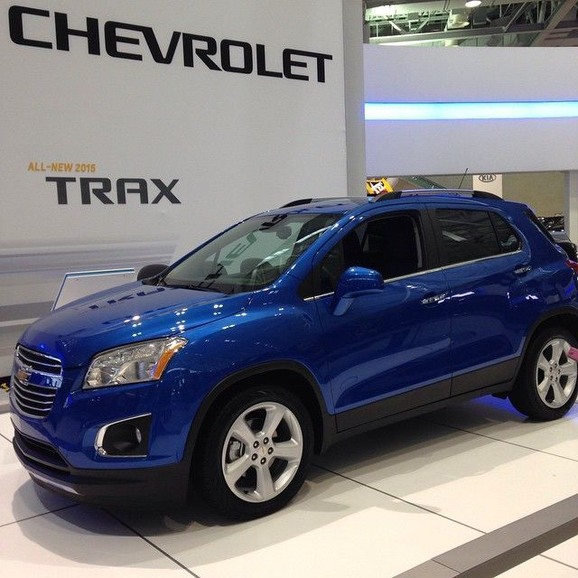 Chevrolets new family suv the TRAX