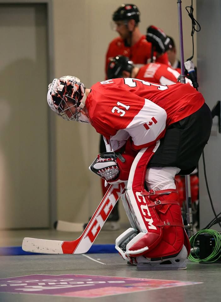 When this guy plays for Canada we come home with gold when Patrick what's his name plays in net we come home with squat !!!!