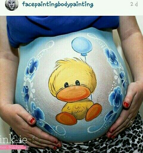 Magnifique : Découvrez le Belly Painting des futures mamans...