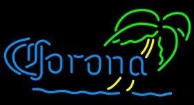 "CORONA TREE BEER BAR CLUB NEON LIGHT SIGN (16"" X 13"") - Free Shipping Worldwide - Lee Neon Signs Online Store - Free Shipping Worldwide"