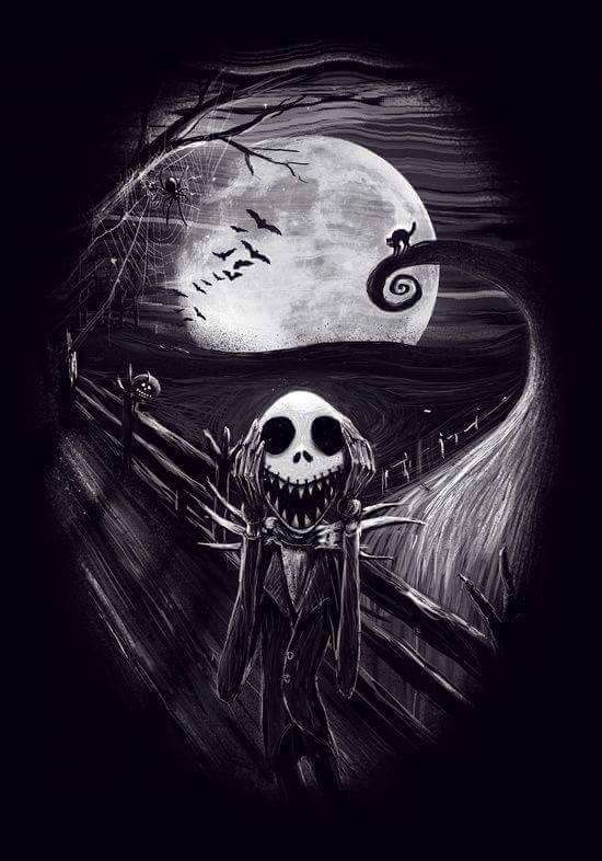 The Scream meets the Nightmare Before Christmas