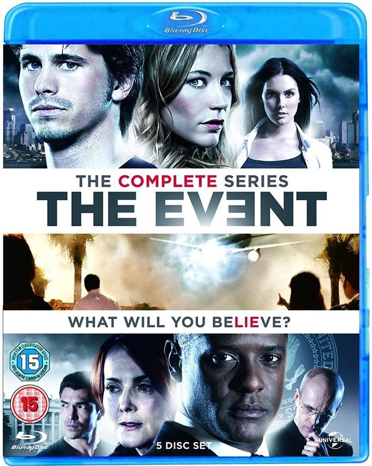 The Event: Series 1 [Blu-ray] [Region Free] [2013] [Jason Ritter, Sarah Roemer]